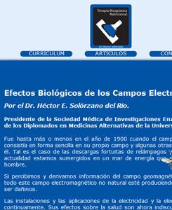 Efectos biólogicos de los Campos Electromagnéticos