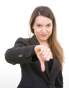 business-women-thumbs-down